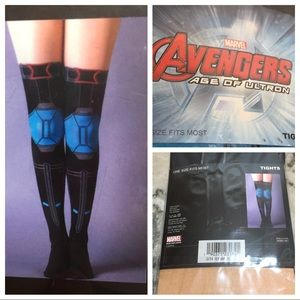 NEW Marvel Avengers Age of Ultron Costume Tights